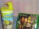 Tupperware Lunch Set Dreamworks Shrek Sandwich Keeper and Tumbler