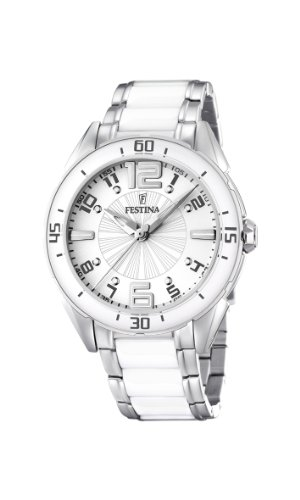 Festina Ladies Watch F16395/1 With Ceramic Inlay