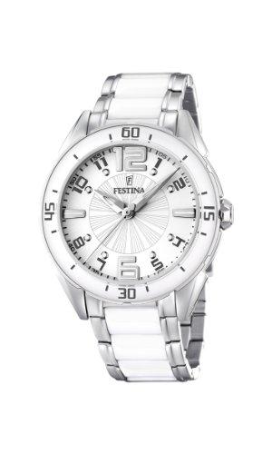 FESTINA F16395-1 - Reloj de mujer de cuarzo, correa de acero inoxidable color varios colores