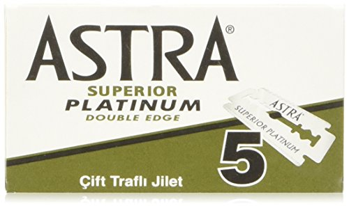 100 Astra Superior Premium Platinum Double Edge Safety Razor Blades Personal Healthcare / Health Care (De Razor Blades compare prices)