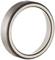 Timken L44610 Tapered Roller Bearing Outer Race Cup, Steel, Inch, 1.980