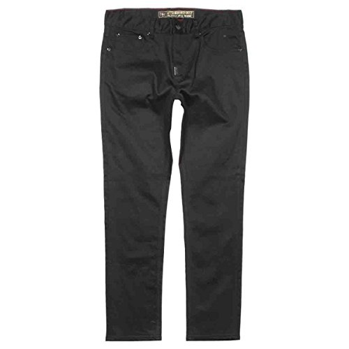 LRG Mens RC Skinny Denim Pants 32 Triple Black
