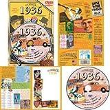 1936 DVD: Your Fabulous Year - Nostalgic 75th Birthday Gift