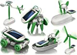#2: Happy GiftMart 6 in 1 Educational Solar Robot Energy Kit Science School Projects For Kids.