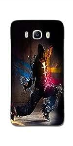 SEI HEI KI Designer Back Cover For Samsung Galaxy J5 (2016 Edition) - Multicolor