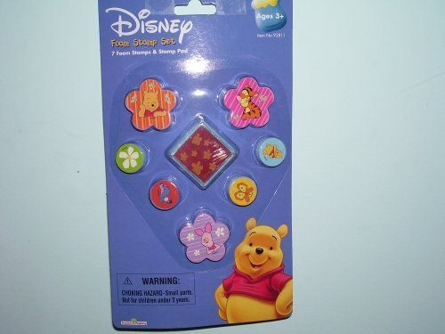 Disney Winnie The Pooh & Friends Foam Stamp Set - 1