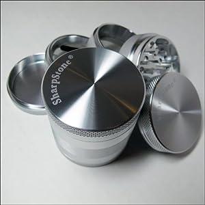 100% Authentic 5 Piece Sharpstone® Herb Grinder + Cali Crusher® Pollen Press (G3... by Sharpstone