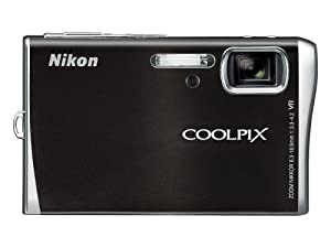 Nikon Coolpix S52c 9MP Digital Camera Zoom with 3x Optical Vibration Reduction Zoom with Wi-Fi (Vibrant Black)