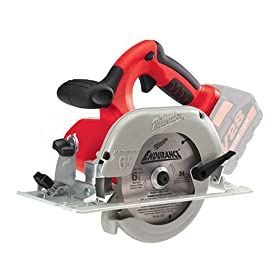 Bare Tool Milwaukee 0730-20 28-Volt V28 Lithium Ion Cordless 6-1/2-Inch Cordless Circular Saw (Tool Only, no Battery)