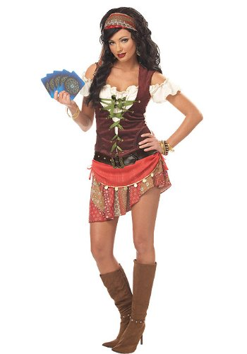 Mystic Gypsy Costume - Large - Dress Size 10-12