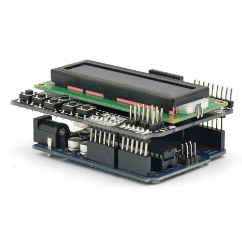 SainSmart C33 Kit with UNO + 1602 LCD Keypad Shield V3 for Arduino UNO R3 MEGA Mega2560 Nano DUE Duemilanove AVR ATMEL Robot XBee ZigBee