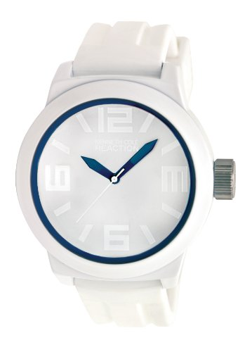Kenneth Cole Reaction Men's RK1243 Triple White Blue Details Watch