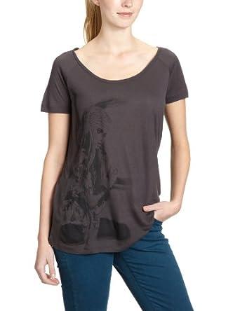 ONLY Damen T-Shirt 15069472/MAKI SS LOOSE BOHEMIAN TOP JRS BB, Gr. 38 (M), Schwarz (PHANTOM Print: Bohemian)