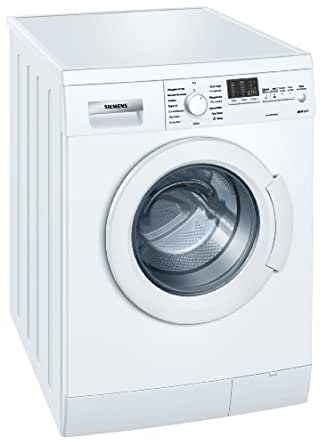 Siemens WM14E424 Frontlader Waschmaschine / A++ A / 1400 UpM / 7 kg / weiß / varioPerfect-Option / AquaStop-Schlauch