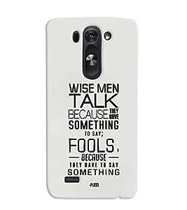 TOUCHNER (TN) Fools Back Case Cover for LG G3 Beat::LG G3 Vigor::LG G3s::LG g3s Dual