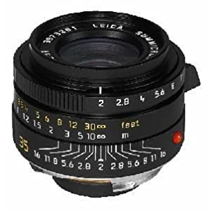 Leica Summicron-m 35mm F/2.0 Aspheric Lens