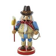Kurt Adler Chubby Cowboy Nutcracker,…