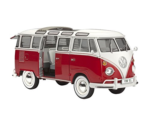 Revell VW T1 Samba Bus 1:24 Scale Model Kit (Vw Bus Model compare prices)