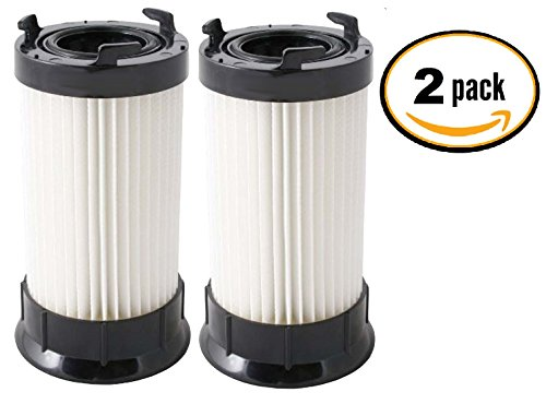 (2 Pack) Eureka DCF-4 and DCF-18 Premium Scented Filters for Eureka 4700, 5500 Series Uprights.