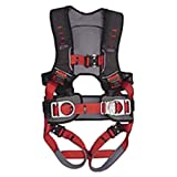 Guardian Fall Protection 182141 Basic HUV Premium Edge Series Harness with Side D-Rings, Pass-Thru Chest Buckle and Leg Tounge Buckles, M-XLarge