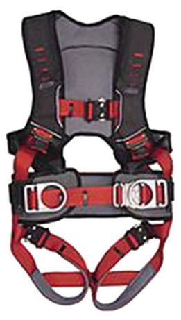 Guardian Fall Protection 182131 Basic Huv Premium Edge Series Harness With Side D-Rings, Pass-Thru Chest Buckle And Leg Tounge Buckles, M-Xlarge