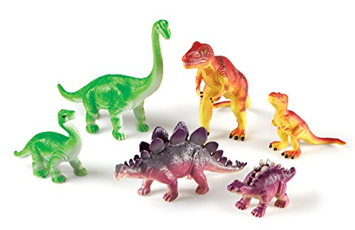 Learning Resources Ler0836 Jumbo Dinosaurs Mommas And Babies LER0836