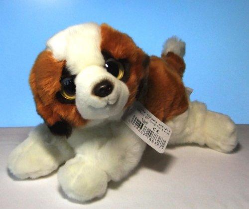 Plüschhund Hund Bernhardiner 35 cm Kuscheltier