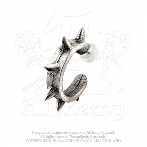 Alchemy Gothic (Metal-Wear) Spike Bracciale Orecchino Singolo