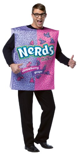 Rasta Imposta Nerds Candy Box, Purple Grape Adult Costume