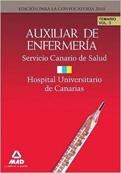 Auxiliares de Enfermería del Servicio Canario/ Hopital Universitario