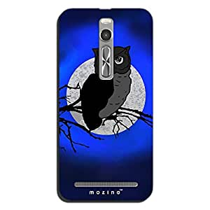 Mozine Night Rider Printed Mobile Back Cover For Asus Zenphone 2