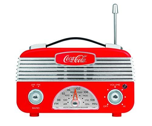 COCA-COLA Coca Cola CCR01 Vintage Style Am/FM Radio