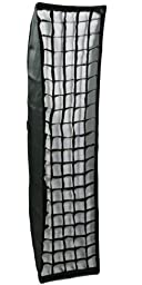 14 Inch x 55 Inch Photography Strip softbox for Alien Bees Alienbees Speedring Strip Beehive Softbox Grid AB35140