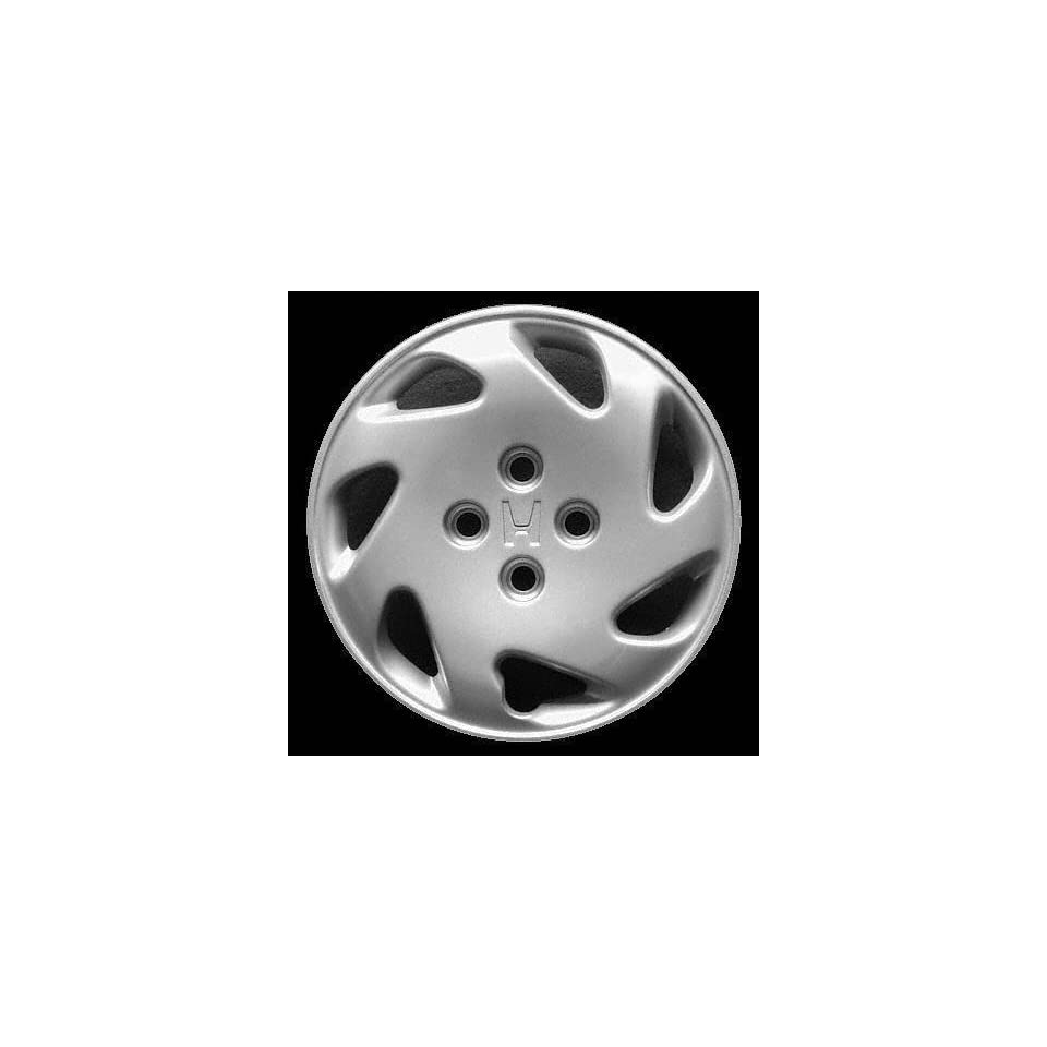 94 97 HONDA CIVIC WHEEL COVER HUBCAP HUB CAP 14 INCH, 7 SPOKE BRIGHT SILVER 14 inch Check out our aftermarket replacem (center not included) (1994 94 1995 95 1996 96 1997 97) H261223 FWC55029U20