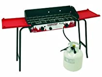 Pro 2 Burner Propane Stove Red/Black