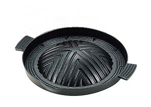 パール金属  ヘルシージンギス館 ふっ素加工 アルミ鋳物製 ジンギスカン鍋 28 cm