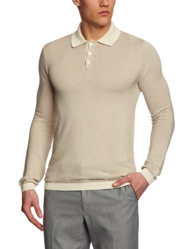 Pringle MJ856 Men's Jumper Off White XX-Large