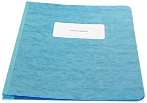 ACCO PRESSTEX Report Cover, Side Bound, Tyvek Reinforced Hinge, 8.5 Inch Centers, 3 Inch Capacity, Letter Size, Light Blue (A7025072A)