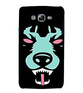 printtech Animal Scary Pattern Back Case Cover for Samsung Galaxy Core 2 G355H