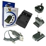 Ex-Pro Ricoh Caplio DB-60, DB60, Fast Travel-Pro Charger Ricoh GR Digital, GX100, R3