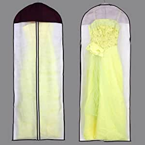bags for lesstm breathable wedding dress garment bag purple with zebra print home. Black Bedroom Furniture Sets. Home Design Ideas