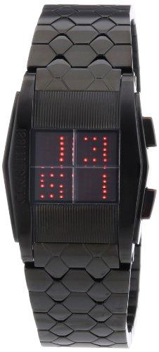 Cerruti 4361865 Orologio da Polso, Digitale, Donna, Acciaio Inossidabile, Nero
