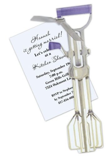 Stevie Streck Designs AW949 BOX Vintage Hand Mixer Platnium Ribbon Tag