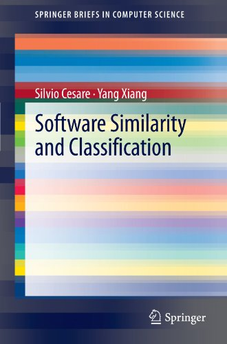 Software Similarity And Classification (Springerbriefs In Computer Science)