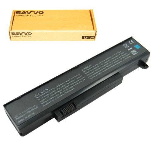 Bavvo 6-apartment Laptop Battery for Gateway 2524264 3UR18650-2-T0037 6501164 6501165 6501166 6501167 6501169