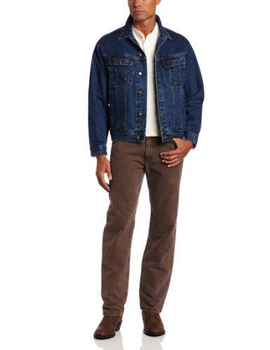 Wrangler Men's Rugged Wear Unlined Denim Jacket,Antique Indigo,2X-Large