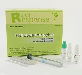 Rapid Response H. Pylori Test Kit, 15 Tests/Kit