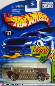 Hot Wheels Krazy 8s CODE CARD #100 (2002) - 1