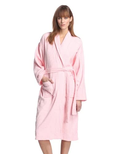 Aegean Apparel Women's Long Terry Loop Robe