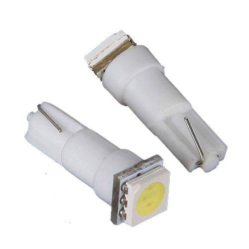 Sodial(R) 2X Car T5 5050 Smd Dashboard White 1-Led Bulbs Light Lamp 74 37 286 18 27 12V Us